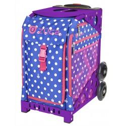 Polka Botz Purple frame