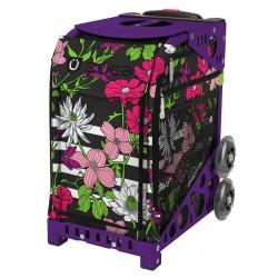 Petals and Stripes Purple...