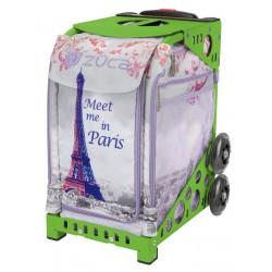 Meet me in Paris Green frame
