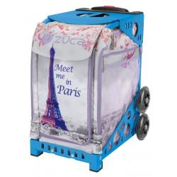 Meet me in Paris Blue  frame