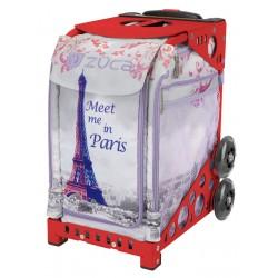 Meet me in Paris Red frame