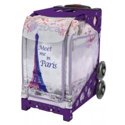 Meet me in Paris Purple frame