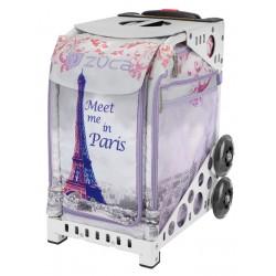 Meet me in Paris White frame