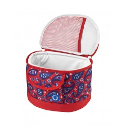 Lunchbox Paisley in Red