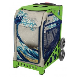 Great Wave Green frame