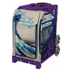Great Wave Purple frame