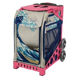Great Wave Pink frame