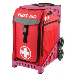 First Aid Pink frame