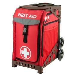 First Aid Brown frame